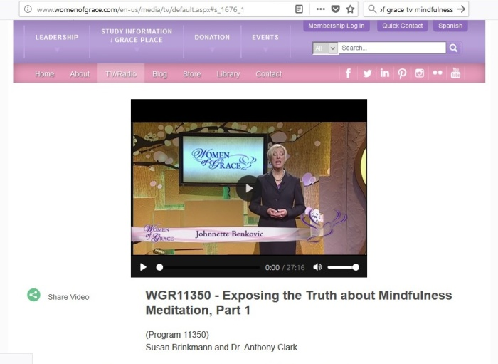 EWTN Women og Grace_Minfulness